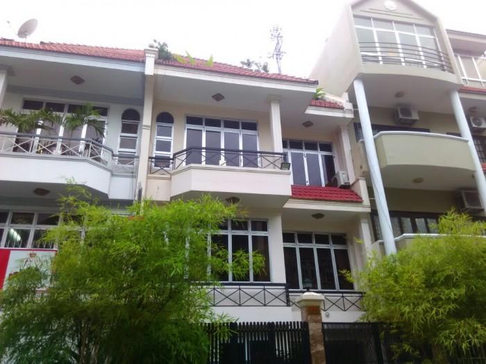 Nhà cho thuê hẻm nội bộ đg Hồ Văn Huê, 8x18m, 1 trệt 3 lầu, tiện nghi