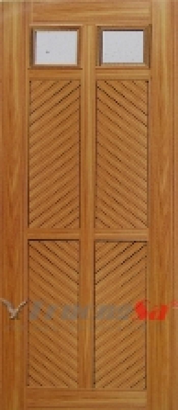 Giá trọn bộ: Cánh + khung bao + phủ vân gỗ hoàn thiện  Kích thước chuẩn: 80 x 210 hoặc 90 x 220cm Hoặc sản xuất theo kích thước yêu cầu.4