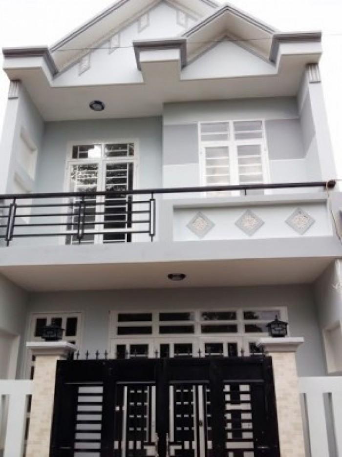 Nhà 2 mặt tiền giá rẻ 5x17m Mỹ Hạnh Nam - Đức Hòa