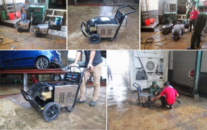 Thiết Bị Cần Có Cho Tiệm Rửa Xe Máy Honda