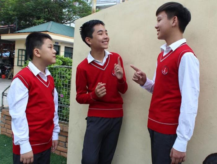 Dệt may áo len đồng phục giá rẻ tại Hà Nội2