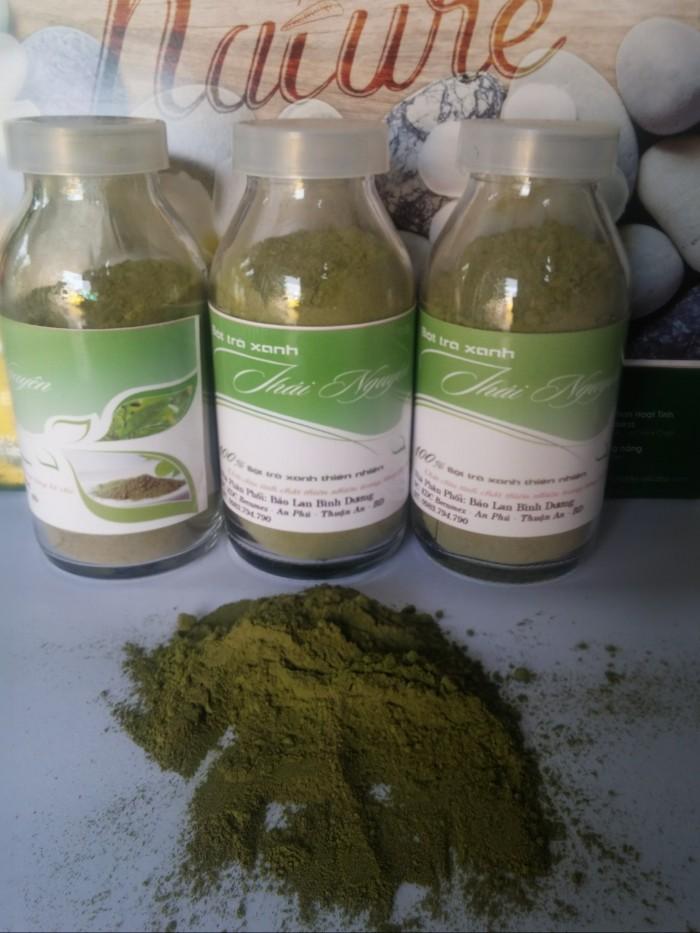 Tinh bột nghệ, bột trà xanh Thái Nguyên giá sỉ1