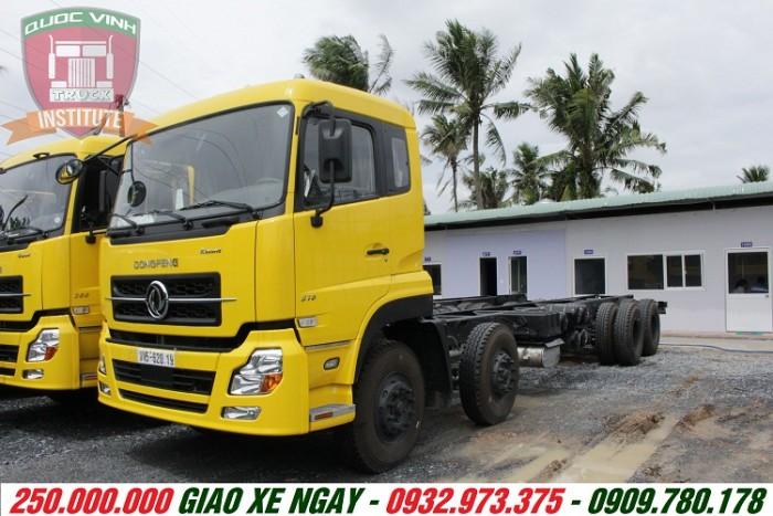 Xe tải Dongfeng 4 chân 18 tấn nhập khẩu nguyên con trả góp giá rẻ nhất miền nam