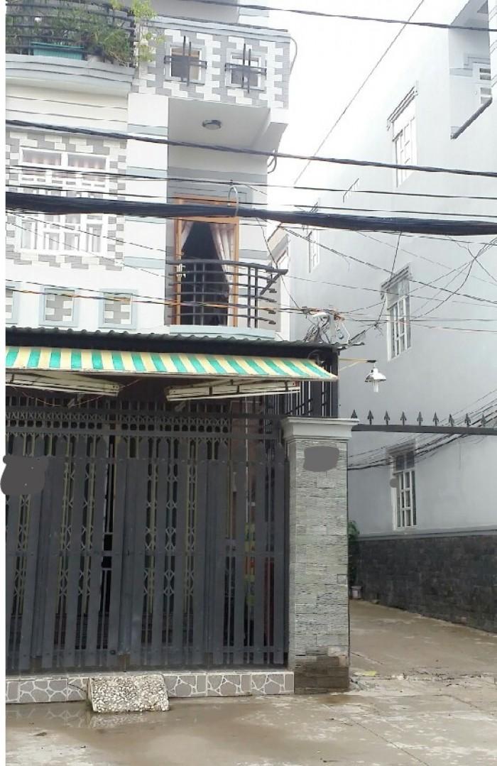 Nhà mặt tiền 12m (4,1x15)sổ hồng chính chủ