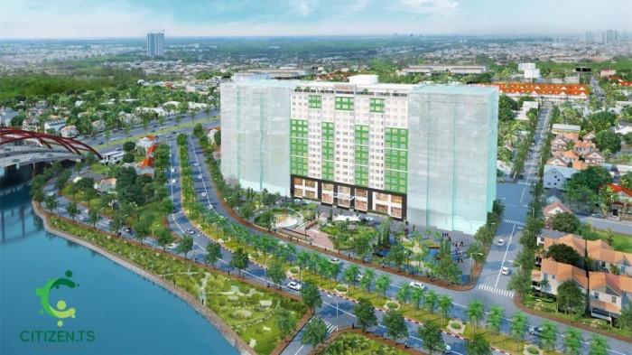 CHCC 5 sao Citizen.ts KDC Trung Sơn giao nhà tháng 1/2017 nội thất hoàn thiện ck cao 3-18%