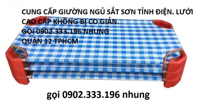 Sản xuất giường giá rẻ, giường mầm non chất lượng quận 123