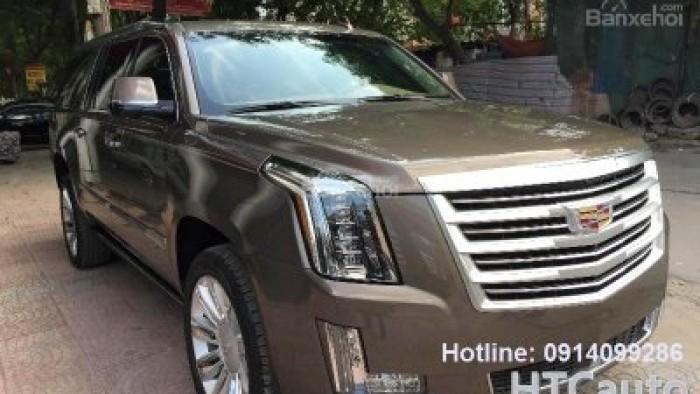 Cadillac Escalade ESV Platinum Edition 2016 màu đồng