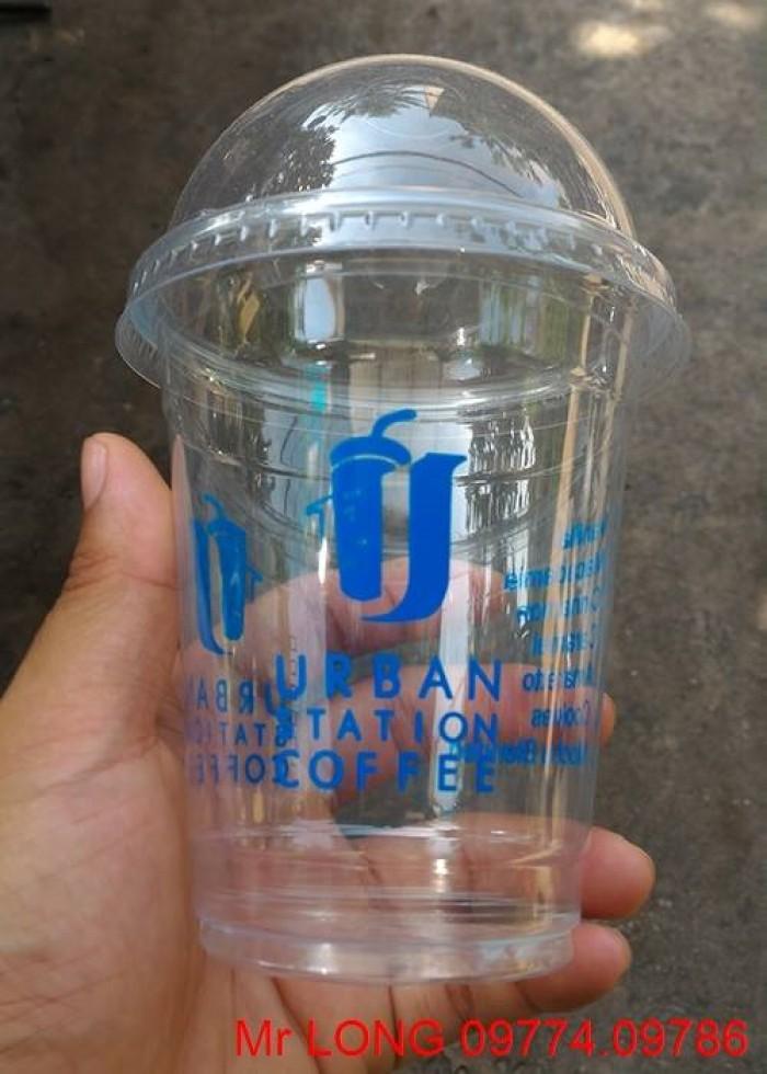 Ly nhựa in logo thương hiệu theo yêu cầu.