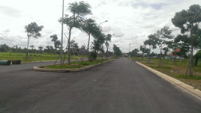 Đất nền mặt tiền chợ, đường QL50, đường 20m, SHR, XDTD