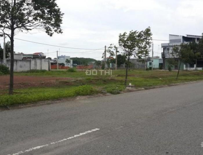Bán đất mặt tiền Đường nhựa 25m khu dân cư đông đúc, kế chợ, trường học Giá 295 triệu/nền