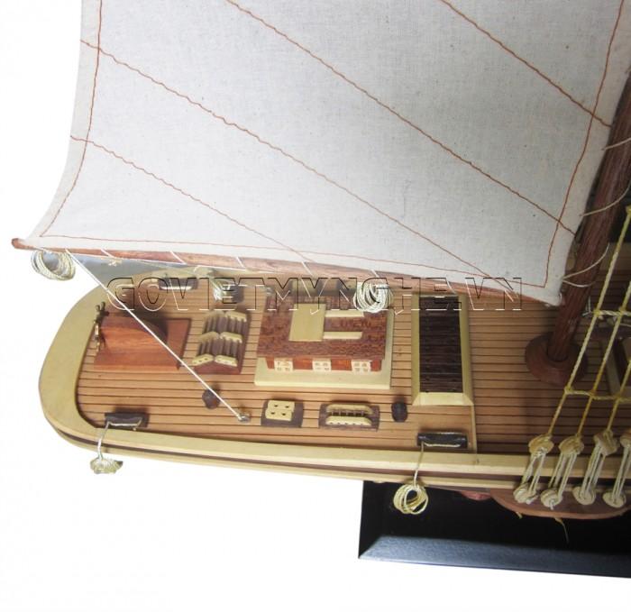 Mô Hình Du Thuyền Atlantic 100cm (Gỗ Tự Nhiên)1