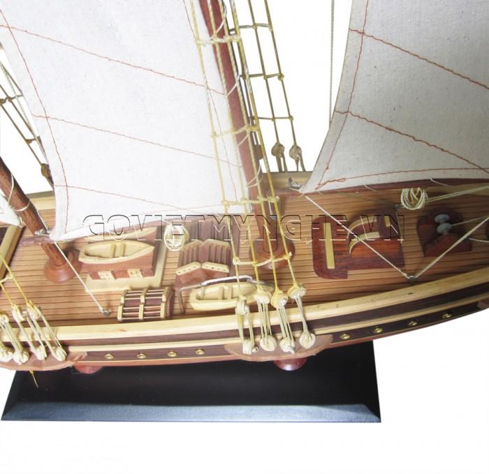 Mô Hình Du Thuyền Atlantic 100cm (Gỗ Tự Nhiên)2
