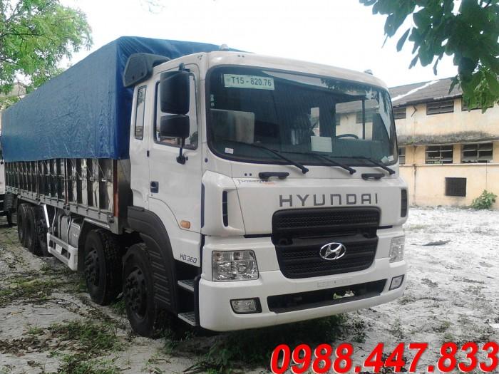 Hyundai HD360 sản xuất năm 2015 Số tay (số sàn) Xe tải động cơ Dầu diesel