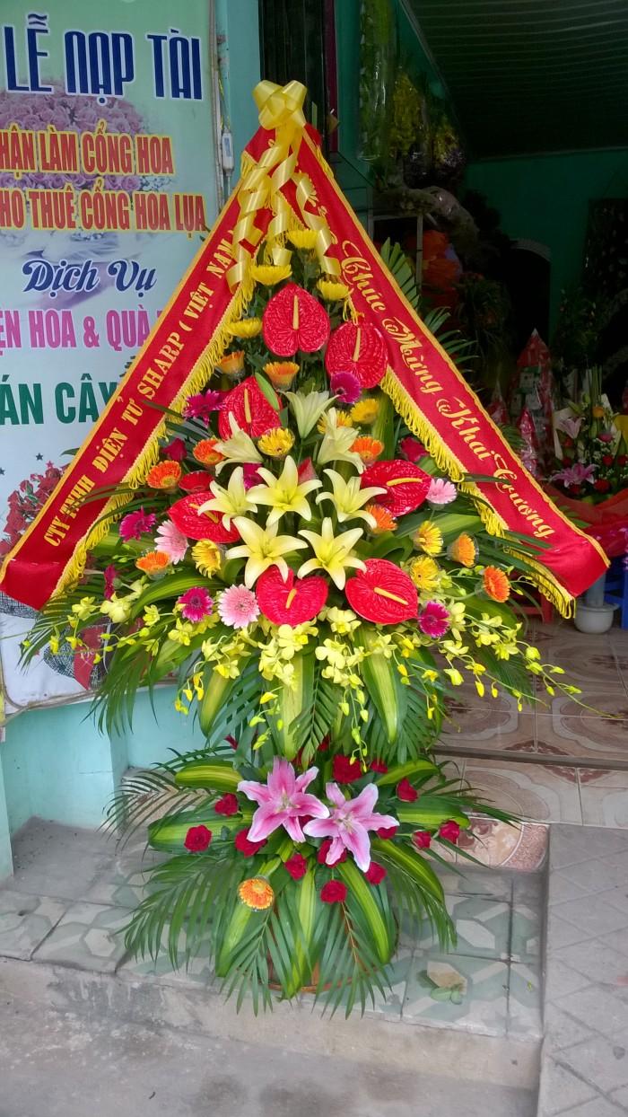 Điện Hoa Thanh Hoá là dịch vụ chuyển phát điện hoa uy tín nhất Thanh Hoá,miễn phí giao hoa nội thành thành phố Thanh Hoá.1