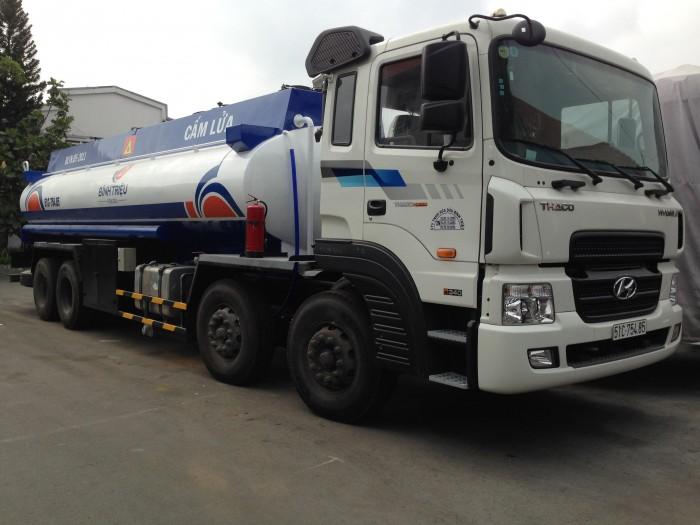 xe bồn xăng dầu hd320, 5