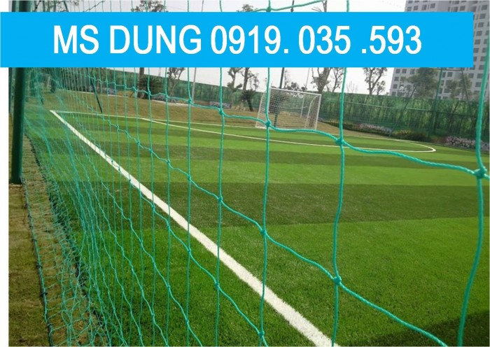 Lưới hàng rào bao quanh sân bóng đá, lưới dù khung thành, lưới sân cỏ căng lưới
