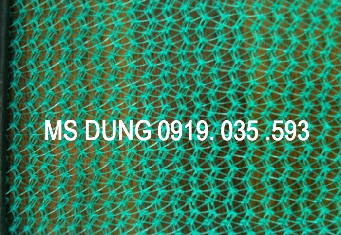 Lưới an toàn, bao che chắn bụi công trình lưới dù trắng mắt 5cm, 12cm, 4