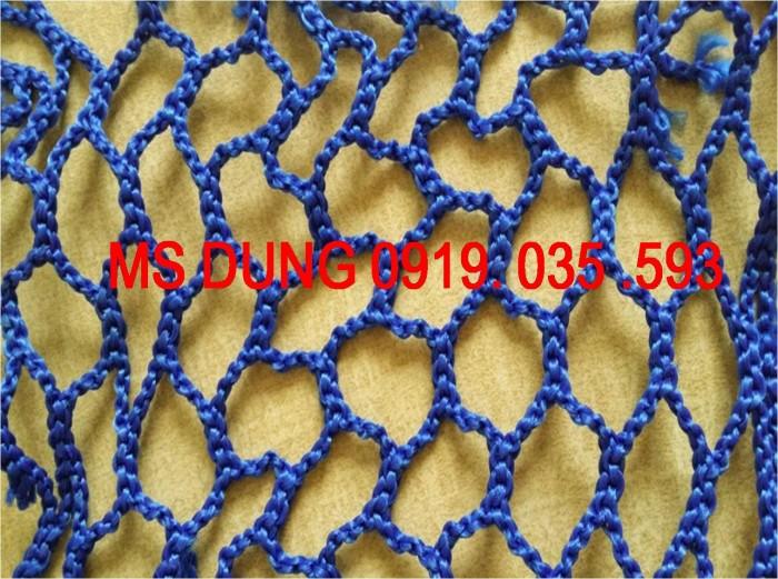 Lưới an toàn, bao che chắn bụi công trình lưới dù trắng mắt 5cm, 12cm, 6