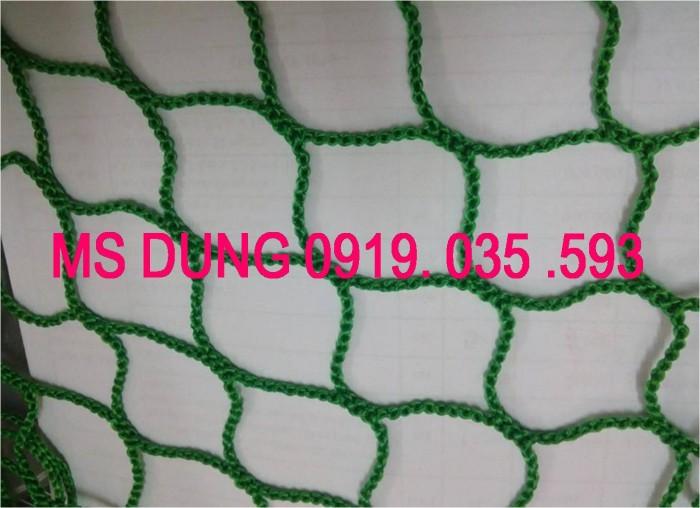 Lưới an toàn, bao che chắn bụi công trình lưới dù trắng mắt 5cm, 12cm, 7