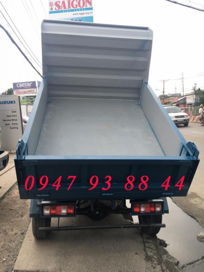 Bán xe ben 650kg trả góp khuyến mãi phí trước bạ