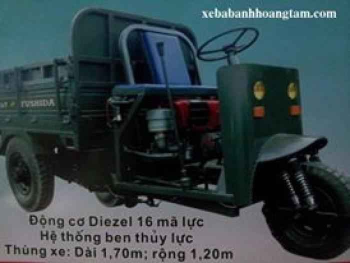 Bán xe ba gác chở hàng T&T FuShiDa