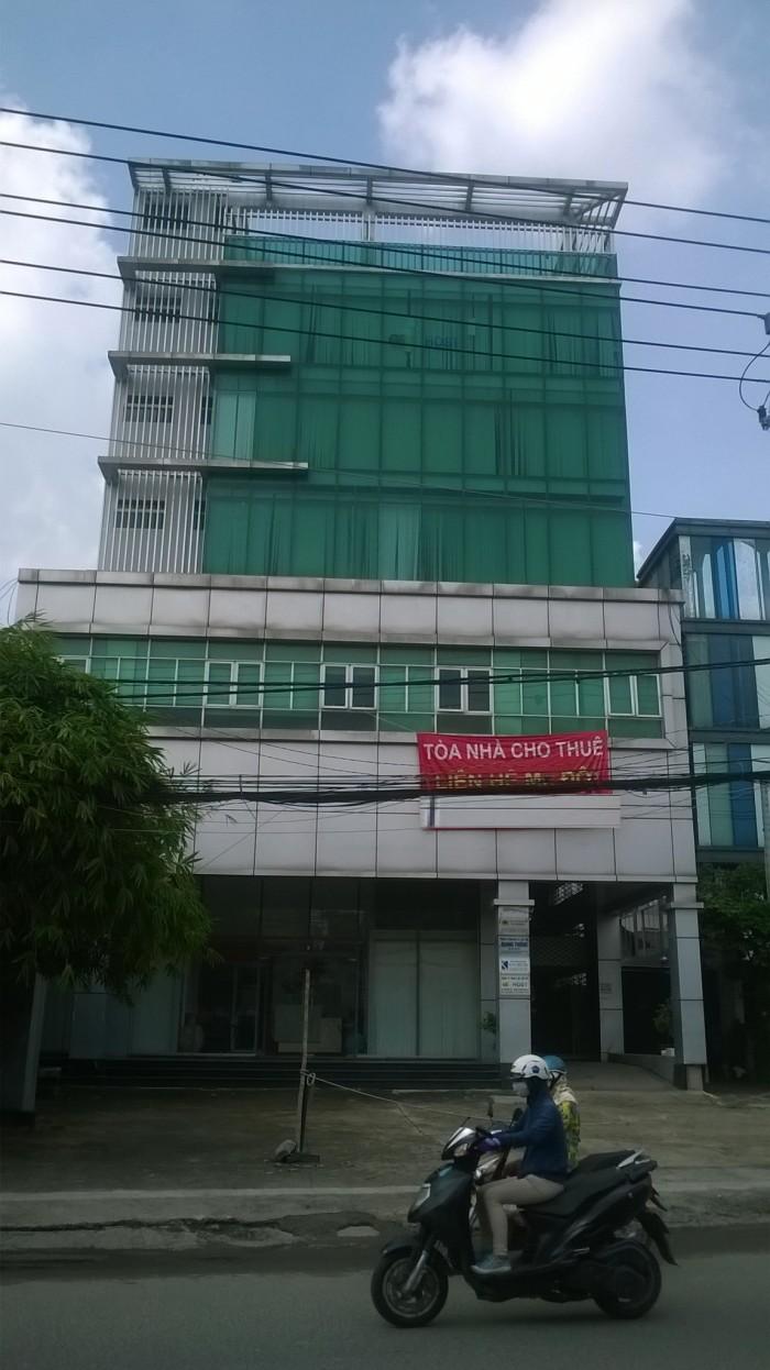 Tòa nhà MT đường Nguyễn Xí cho thuê, hầm trệt 7 lầu, có thang máy