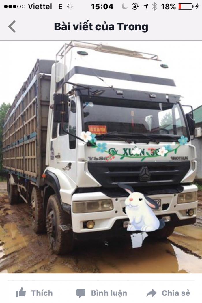 Howo  sản xuất năm 2012 Số tay (số sàn) Xe tải động cơ Dầu diesel