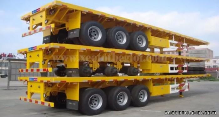 Đại lý bán rơ moóc CIMC Sàn 3 trục 40 Feet 32 tấn 2016 tại Miền Nam