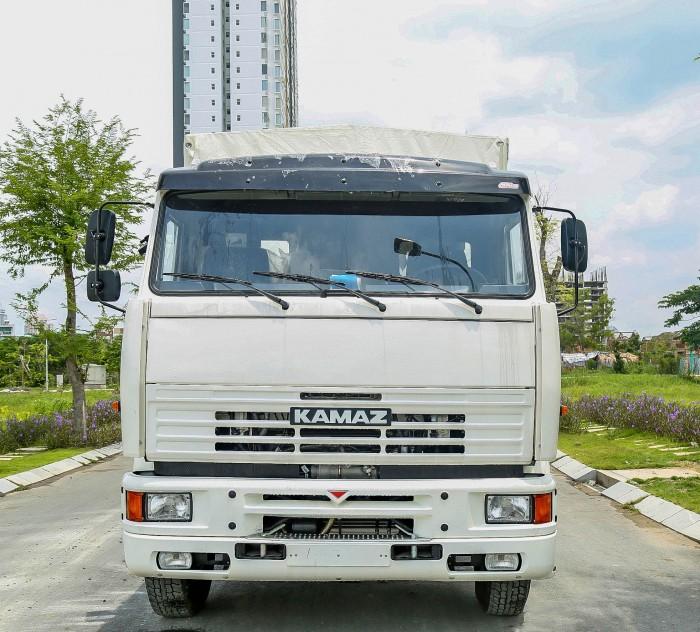 Xe tải thùng 3 chân 16 tấn Kamaz