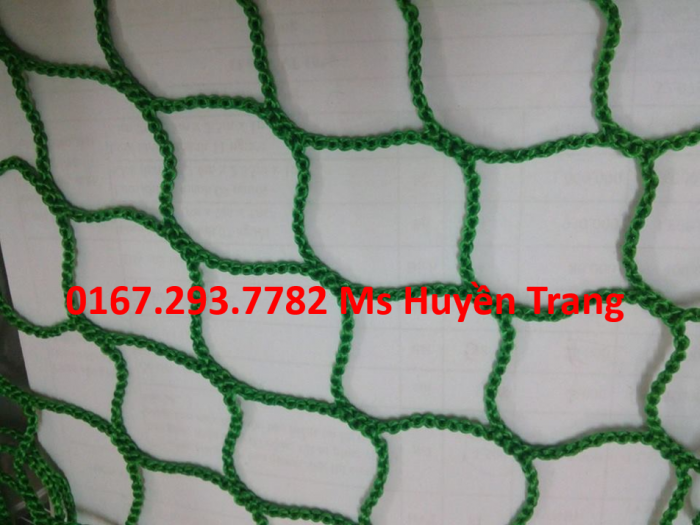 Lưới an toàn sản xuất theo tiêu chuẩn hàn quốc mắt 2.5cm hoặc 5cm, 5