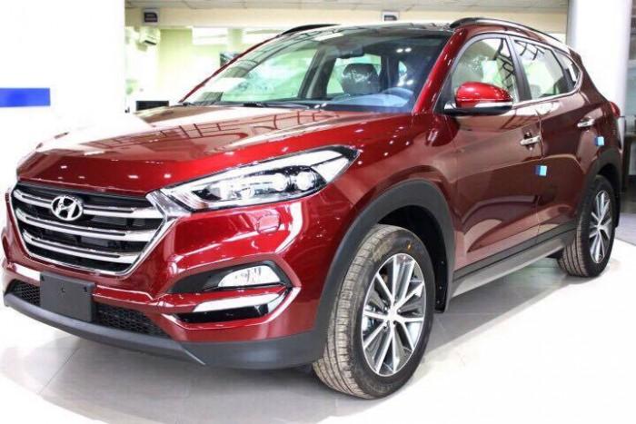Hyundai Tucson 2016 khuyến mãi khủng nhân dịp khai trương chi nhánh Hyundai Trường Chinh