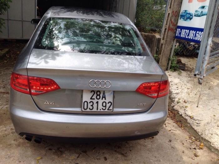 Cần bán xe ôtô Audi đời 2010 chính chủ màu xám 3