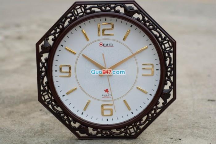 Đồng hồ treo tuờng 21 sang trọng in ấn quảng cáo theo yêu cầu giá tốt, 3