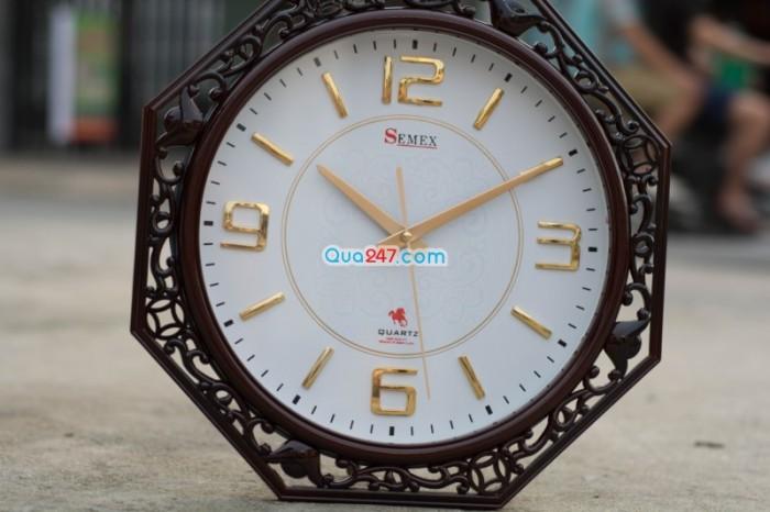 Đồng hồ treo tuờng 21 sang trọng in ấn quảng cáo theo yêu cầu giá tốt, 4