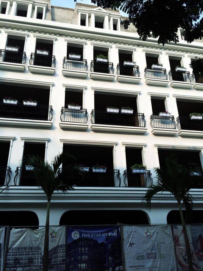 Nhà liền kề sổ đỏ chính chủ, mặt đường Trần Văn Lai, 81m2x5 tâng