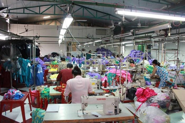 Phân xưởng may Trang Trần