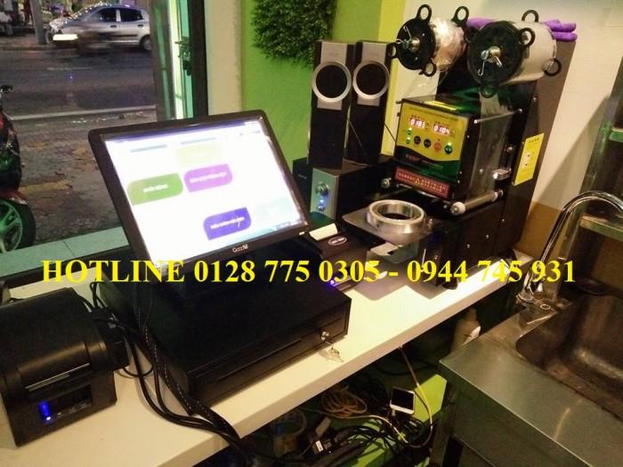 Máy tính tiền cảm ứng cho quán cafe, nhà hàng tại Tân Phú0