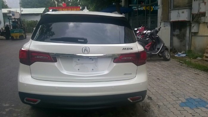 Acura MDX 2015 nhập Mỹ. Giao ngay. Màu trắng nội thất kem.