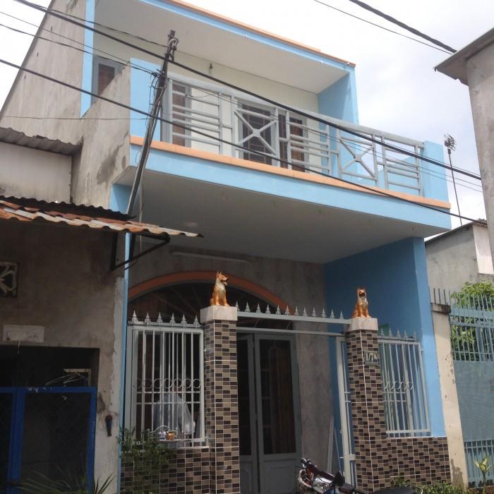 Nhà dân ở 4,3m*12m 1 lầu có sân thượng Nguyễn Thị Ngâu hẻm bê tông 3m,giá 970 triệu
