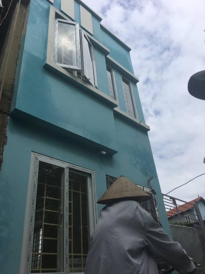 Cần bán nhà riêng mới xây 3,3m x 9,7m , mặt đường 4m, 3,5 tầng, ô tô đỗ cửa, Yên Nghĩa, Hà Đông.