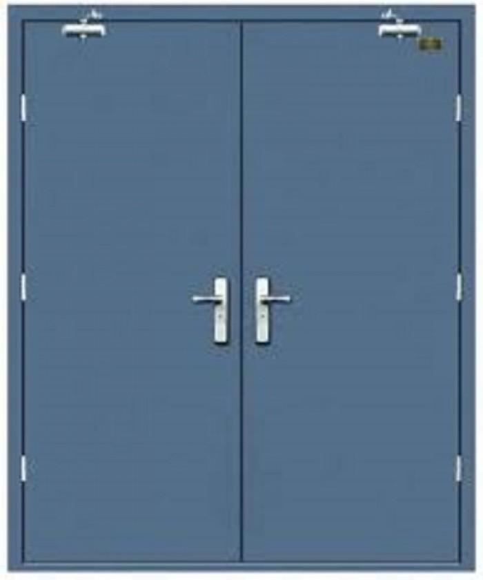 Chuyên nhận sản xuất các loại cửa chống cháy theo yêu cầu