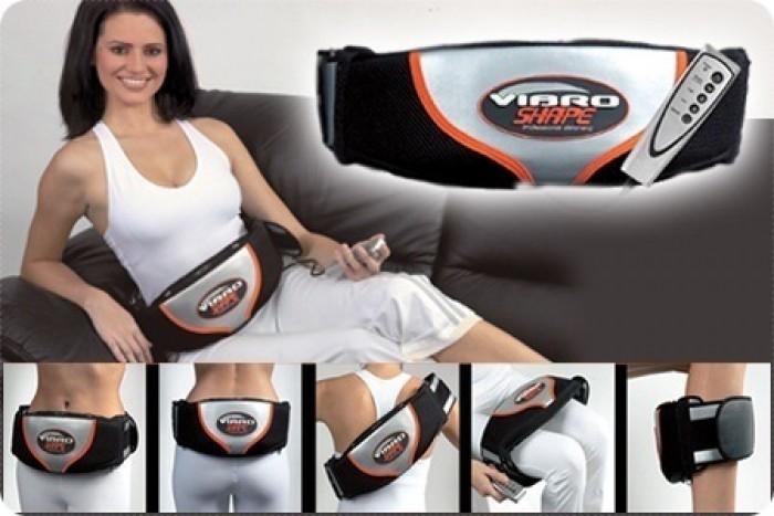 Đai Massage Bụng Nóng Rung Vibro Shape Đời Mới