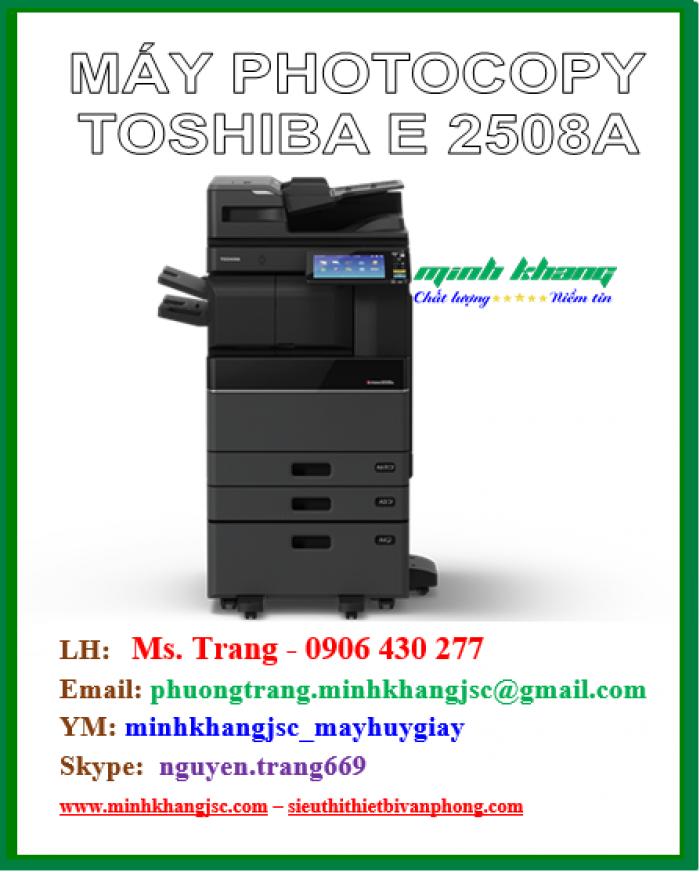 Máy photocopy Toshiba 2508a hiệu suất cao giá cực rẻ4