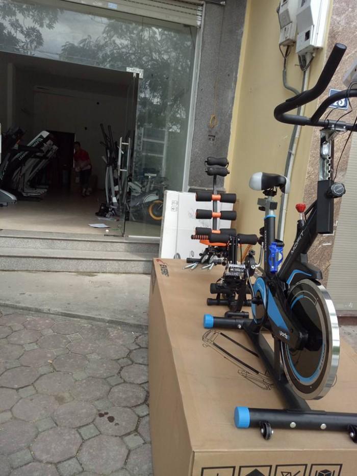 Cấu tạo đa năng của xe đạp tập thể dục MHS-600.  Hệ thống các bộ phận tr...