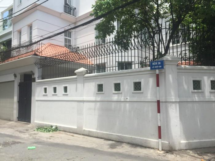 Bán gấp biệt thự hẻm 38 Nguyễn Văn Trỗi, Q.Phú Nhuận, DT: 8m x 21m. Giá chỉ hơn 18 tỷ giá cực tốt
