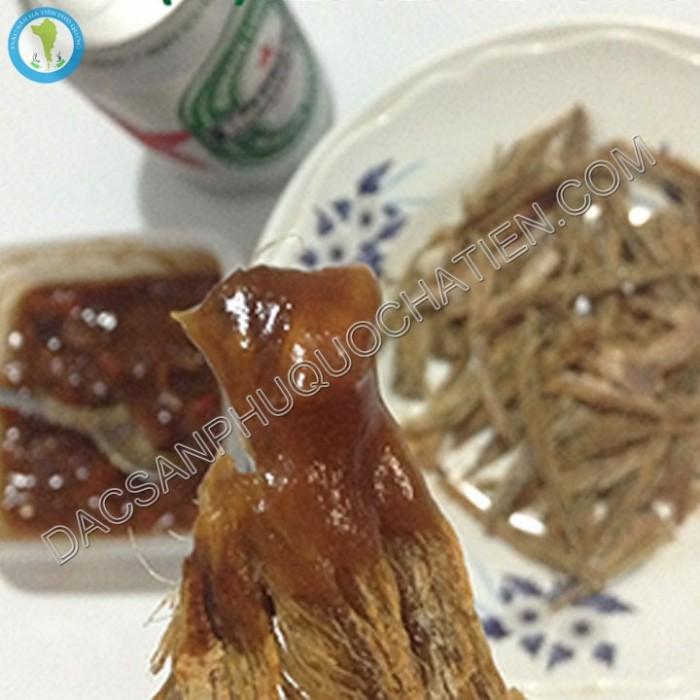 Khô cá đuối trắng Phú Quốc nướng1