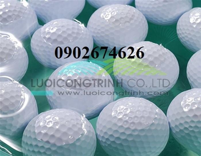 Bóng golf 2 lớp, bóng golf nổi đánh ra hồ