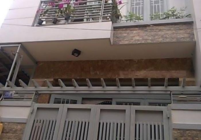 Nhà hẻm đường số 13A.P.BHHA.(7,5x12).nhà 3MT