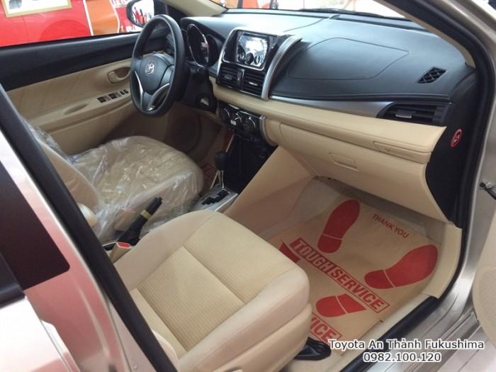 Bán xe Toyota Vios 2016 ở HCM từ Đại lý Toyota An Thành Fukushima 100% vốn Nhật Bản
