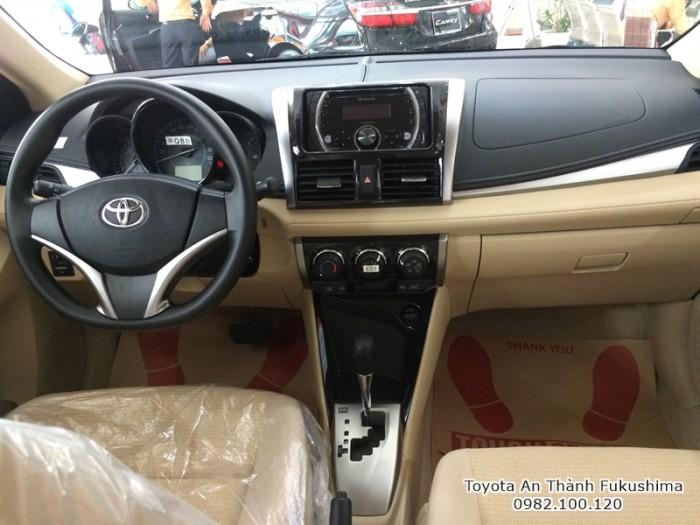 Xe ôtô Toyota Vios 2016 ở HCM nhanh dễ dàng thông qua chương trình mua xe trả góp, lãi suất cực thấp của Đại lý Toyota 100% vốn Nhật - Toyota An Thành Fukushima